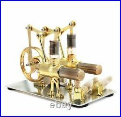 Balance Stirling Engine Miniature Model Steam Power Generation Experimental Toy