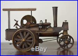 Beautiful antique vintage locomotive live steam engine