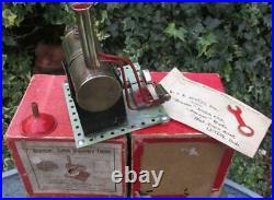 Beautiful, small but perfectly formed Bowman PW201 30's stationary steam engine