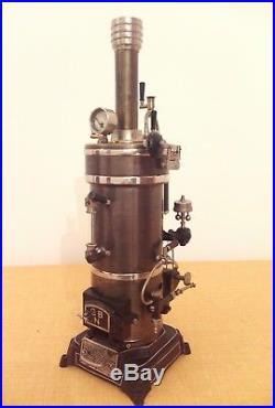 Bing 130/114 Dampfmaschine Live Steam Engine Tin Toys Locomobile Vapeur