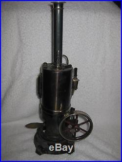 Bing Antique Steam Engine Toy 1912 Rare