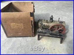 Bing MODEL 5330 VINTAGE TOY STEAM ENGINE With Original Box