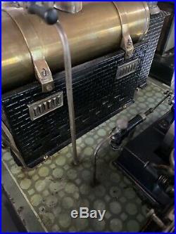 Bing Steam Engine Plant Antique Toy Model