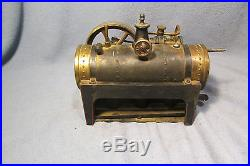 Bing Vertical Steam Engine and Piston Motor with Heat Tray