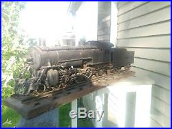 Buddy L Outdoor Railroad Train Steam Engine and Tender Track Very cool