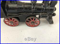 Buffalo Locomotive 0-4-0 Steam Engine Cast Iron Vintage Antique Train Toy