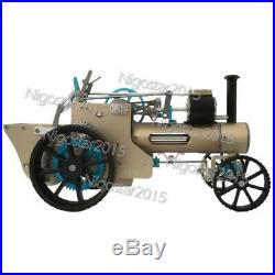 Build-up Steam Engine Car Model Toy DIY Assembly Classic Car Model Vintage Car