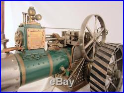 Burrell & Sons operational steam engine one of a kind traction engine built 1913