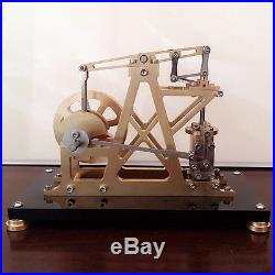 CNC Metal Steam Engine Model Toy Reciprocate Steam Engine Generator Motor Gift