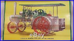 Case 65 Horsepower Steam Engine Metal Sign