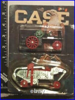 Case Steam Engine & Thrash Machine 1/64 Diecast Farm Replica by Scale Models