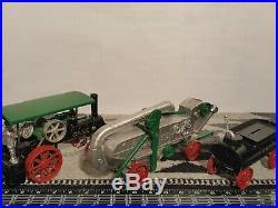 Case Steam Engine, Thresher, and Tender 1/32 diecast by Irvin's Model Shop