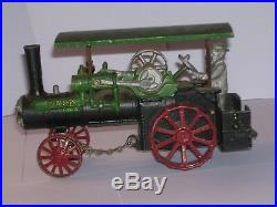 Case Tractor c. 1900 Steam Engine & Thresher (Combine) Vintage Models