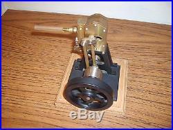 Classic Custom Built Handmade Brass Steam Engine Beautiful Working