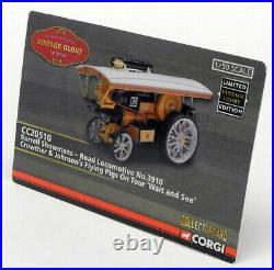 Corgi 1/50 Scale Model Steam Engine CC20510 Burrell Showmans Crowther & Johnson