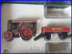Corgi Steam Engines 80110 Fowler Showmans Loco & 80305 Garrett Tractor Wynns