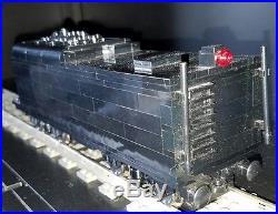 Custom Built Lego Train BerkShire 2-8-4 Coal Burning Steam Engine / 2 9V motors