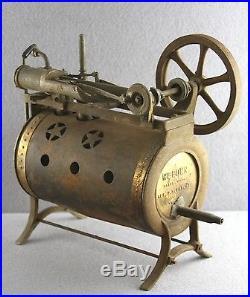 Dealers Estate Weeden Toy Metal Steam Engine For Parts Or To Restore 9 1/2