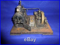 Doll Co. Toy Steam Engine 1930's