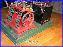 Doll Twin Boiler, Twin Cylinder #340, Live Steam Engine, Rare Germany