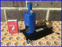 David Auld New Zealand SE 3 Vertical Steam Engine Live Steam NZ Vintage Un-fired