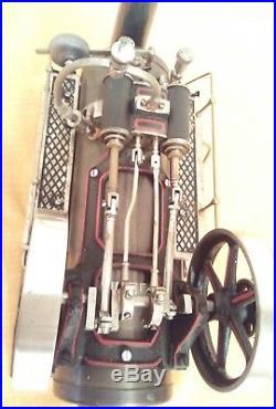 Doll 512/1 Lokomobile Dampfmaschine Live Steam Engine Tin Toys Locomobile Vapeur