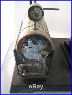 Doll Toy Company Live Steam Engine Model 360/4 Dated 1927 Rare! Vintage