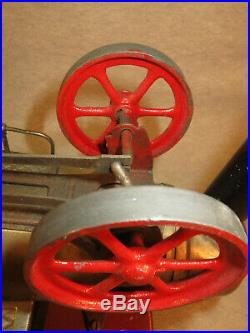 Doll horizontal overtype steam engine model 511/2, twin flywheels, late, lot ST6