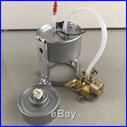 Dual Cylinder Reciprocating Mini Steam Engine Motor Toy Complete Set with Boiler