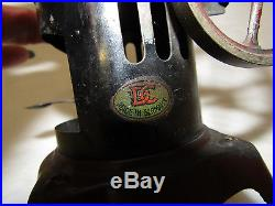Early 20th Century Vtg Vertical Live Steam Engine Boil Toy DC Co. Germany(#4969)