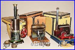 ERNST PLANK steam engine COSMOS with original box