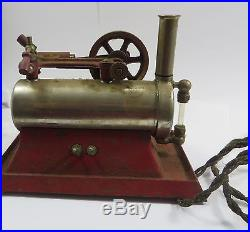 E 1 1921 Empire Metal Ware Corp. Model B-30 Electric Toy Steam Engine SCARCE