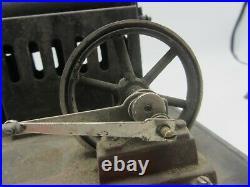 Early German Josef Falk Doll & Co Live Single Piston Steam Engine Model Green