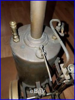 Early Marklin Vertical Steam Engine