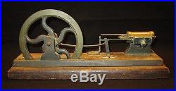 Early Partial Cast Iron & Brass Steam Engine NR