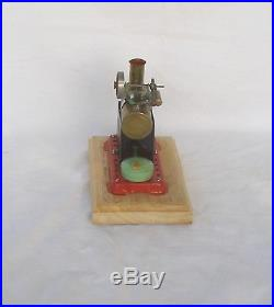 Early Vintage Horizontal Mamod Minor 1 live steam engine with Box Early version