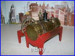 Early Vintage Prewar Weeden Brass & Cast Iron Live Steam Engine