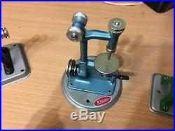 Early WILESCO Live Steam Engine Toy Set (4 pices) Made in West Germany