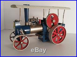 Early West Germany Wilesco D40 Traction Steam Engine Toy Tractor Accessories