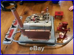 Electrically Heated Steam Engine, Model #25, with accessories Jensen MFG Co