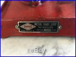 Empire Vertical Toy Steam Engine Circa 1920s