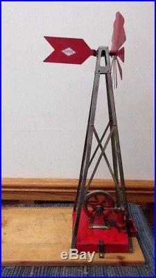 Empire Windmill and Water Pump Combination Accessory for steam engine