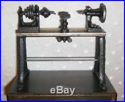 Ernst Plank Live Steam Engine Accessory Toy lathe