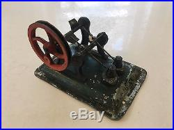 Ernst Plank Toy Steam Engine Set No. 501/2 with Original Box Early 1900's
