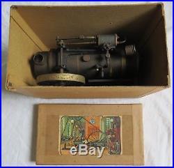 Ernst Plank Union Steam Engine Toy with Original Box&Labels Old Vtg Antique