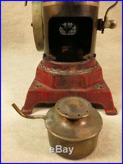 Ernst Plank upright steam engine, Cosmos model, 13 inch, lot ST-7
