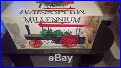 Ertl Case Millenium Steam Engine in box Green Canopy