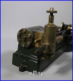 Fine Stuart Horizontal MILL Steam Engine Untested Low Start No Reserve