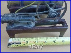 FREE SHIPPING! Antique Weeden Steam Engine & Piston, Cast iron & Brass, model