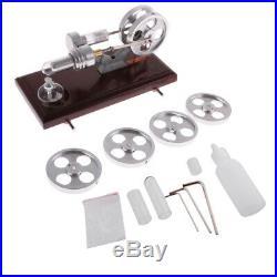 Flame Licker Eater Cylinder Steam Power Stirling Engine Model Mechanism Work Toy